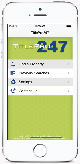 TitlePro247 Mobile Application